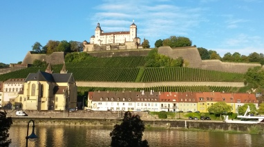 Würzburg im Sonnenschein