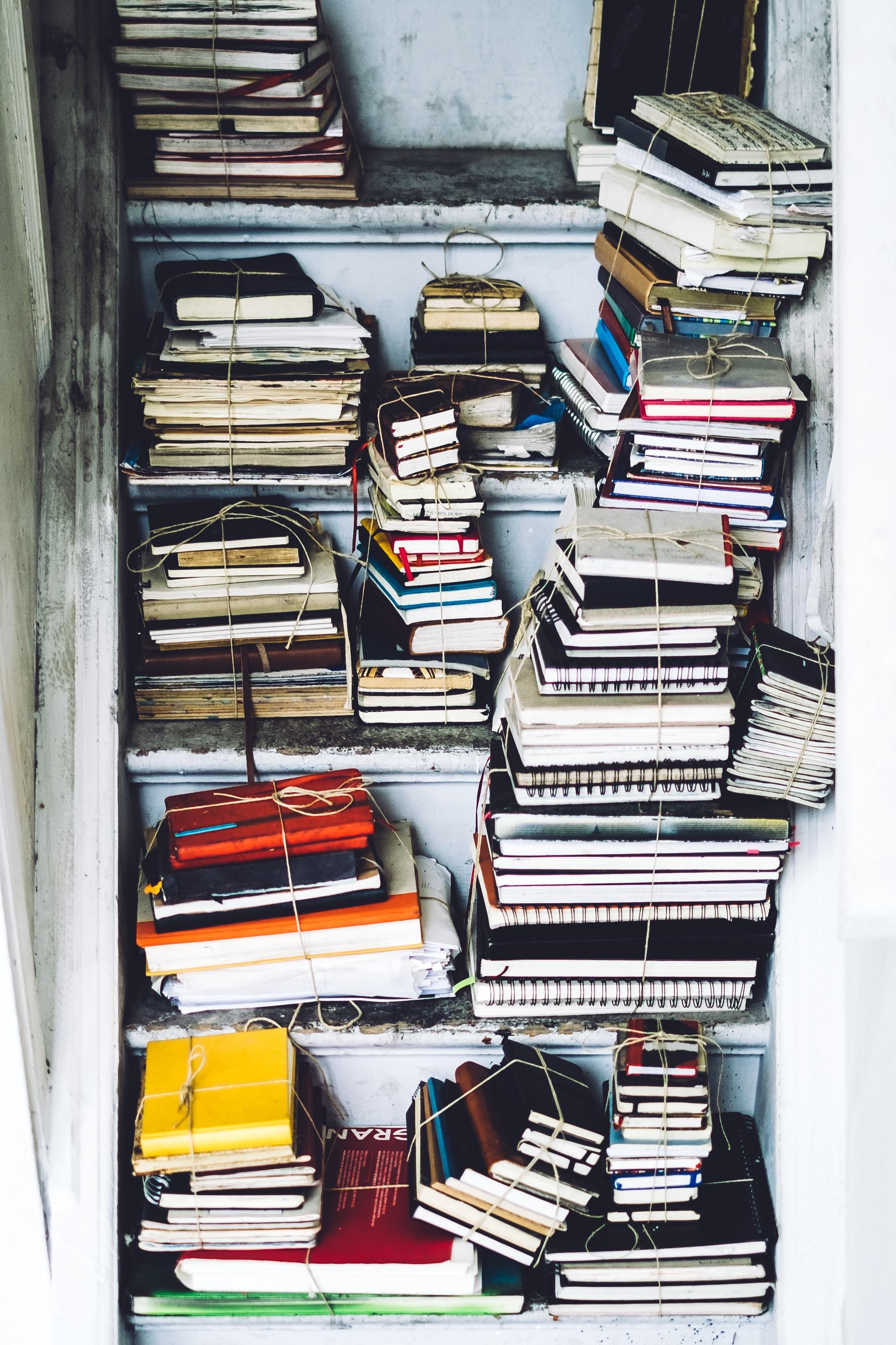 Bücher im Schrank
