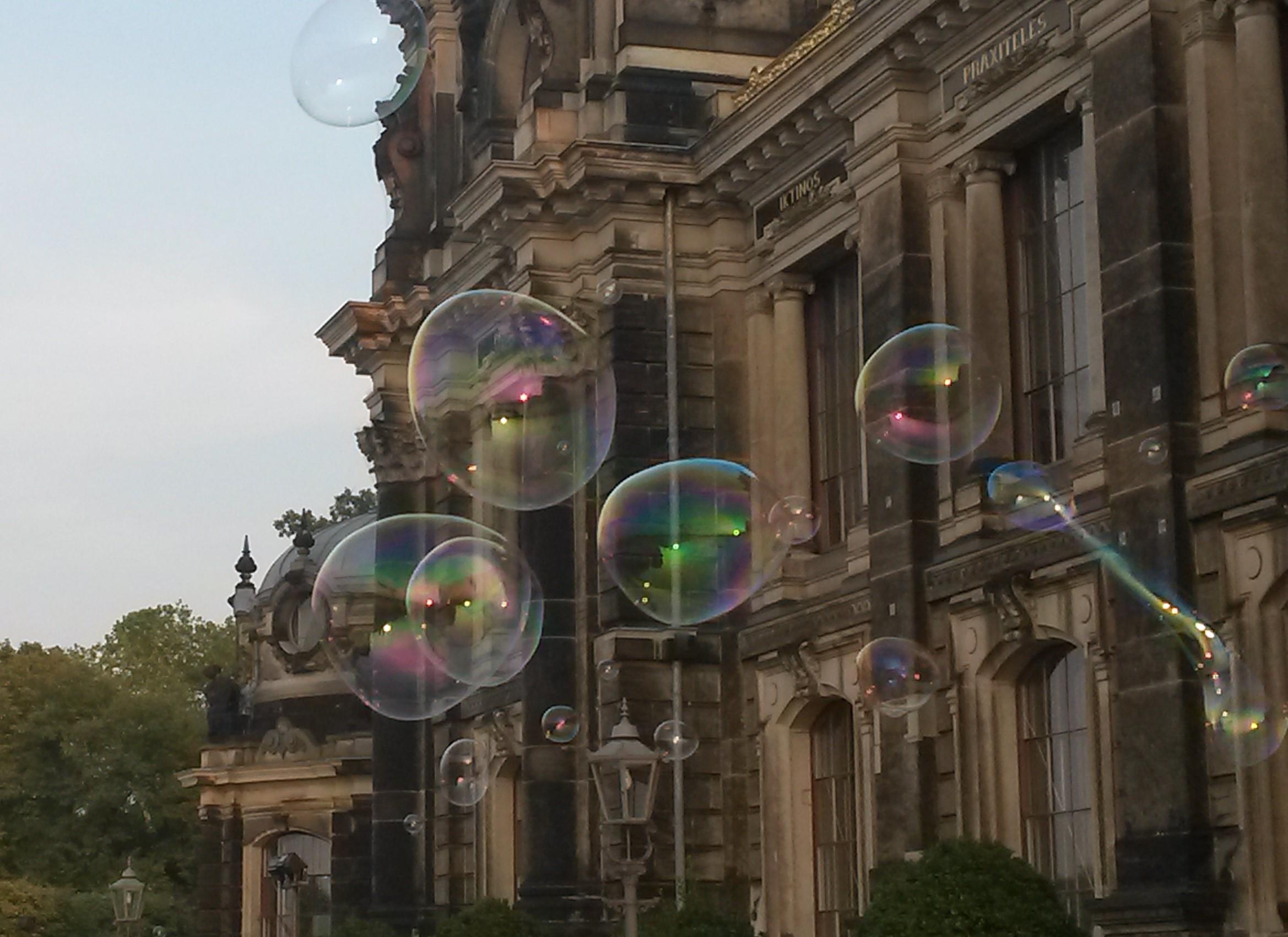 Seifenblasen in Dresden, C.Henkel