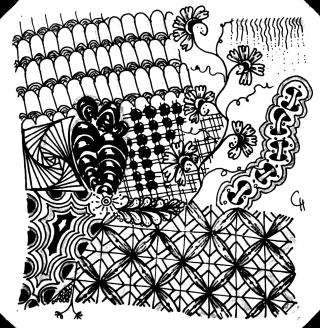 Zentangle by CHenkel